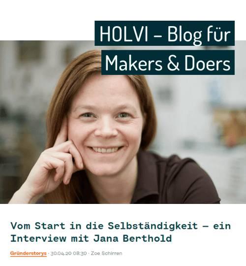 Vorschaubild zu Interview mit Holvi
