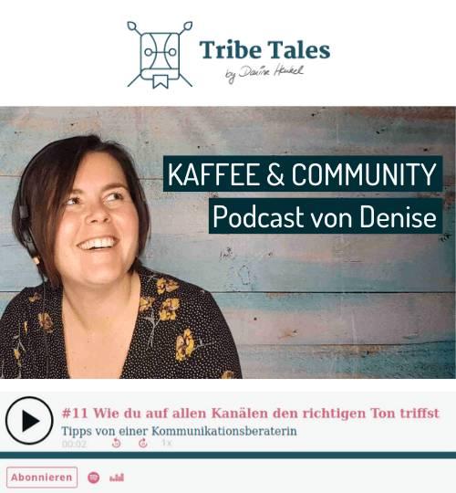 Vorschaubild zu Podcast-Interview mit Denise Henkel von Tribe Tales