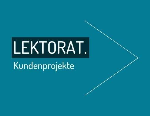 Portfolio von Jana Berthold Bereich Lektorat